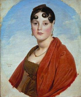 Jean Auguste Dominique Ingres: Madame Aymon (La belle Zélie), Bildnis