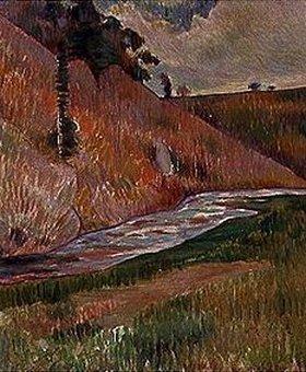 Charles Laval: Bretonische Landschaft