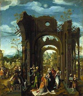 Antwerpener Meister: Anbetung der Könige