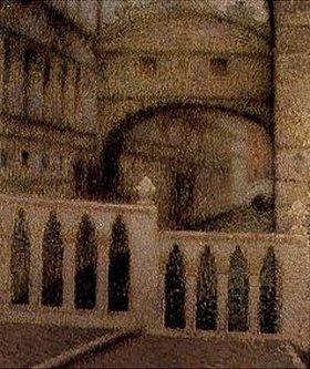 Henri Le Sidaner: Die Seufzerbrücke