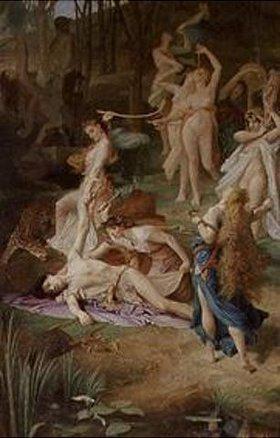 Emile Lévy: Der Tod von Orpheus