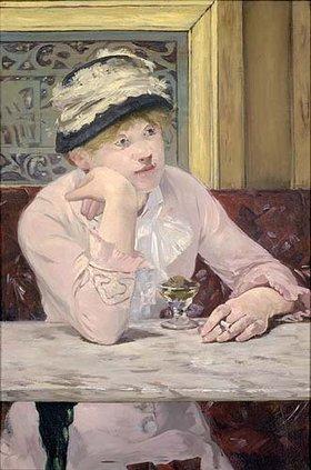 Edouard Manet: Der Pflaumenschnaps (La prune)