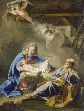 Giovanni Battista Pittoni: Die Geburt Christi