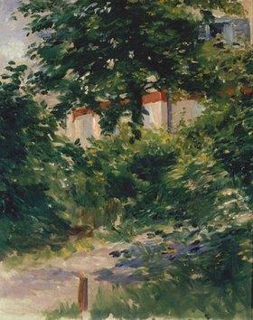 Edouard Manet: Allee im Garten von Rueil