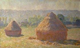 Claude Monet: Stroh-Schober am Ende des Sommers