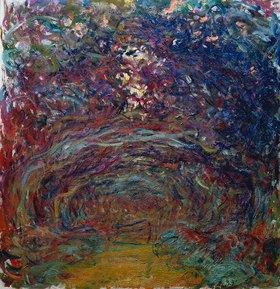 Claude Monet: Die Rosen-Allee in Giverny
