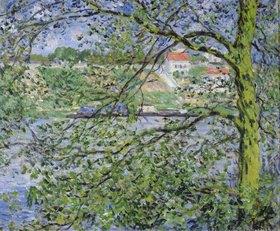 Claude Monet: Blick durch Bäume