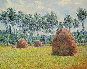 Claude Monet: Stroh-Schober in Giverny