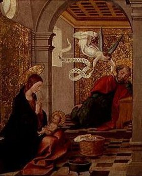 Juan de Borgona: Der Traum des hl.Joseph