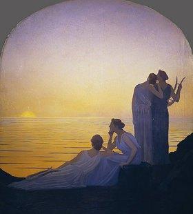Alphonse Osbert: Abend im antiken Griechenland
