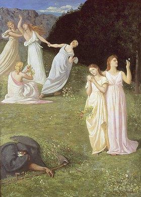 Pierre Puvis de Chavannes: Die jungen Mädchen und der Tod