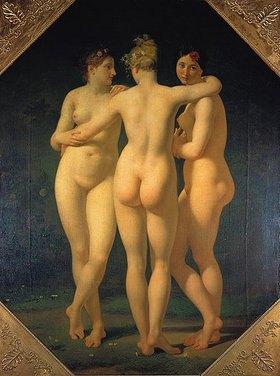 Jean-Baptiste Regnault: Die drei Grazien