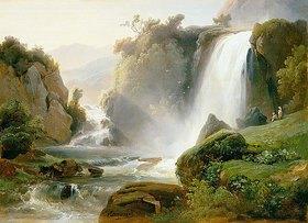 Charles Rémond: Die Wasserfälle von Tivoli