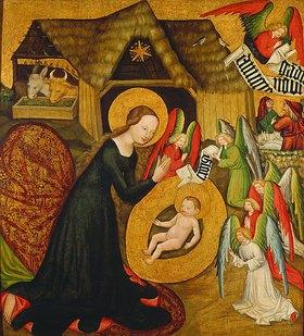 Meister von Großraigern(Rajhrad): Geburt Christi. Altarflügel