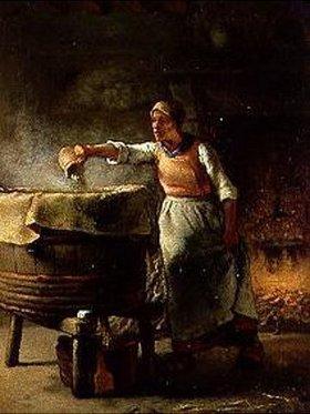 Jean-François Millet: Die Waschfrau