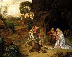 Giorgione: Die Anbetung der Hirten
