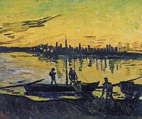 Vincent van Gogh: Hafenarbeiter in Arles