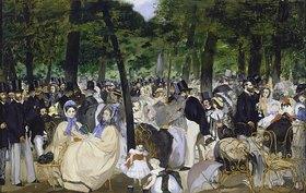 Edouard Manet: Musik im Tuileriengarten