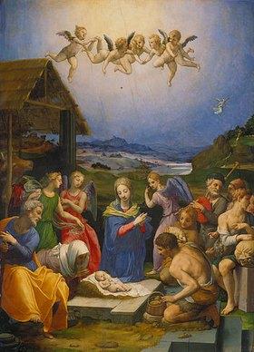 Agnolo Bronzino: Die Anbetung der Hirten