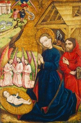 Ungarn um 1450 Meister von Németlipcse: Geburt Christi