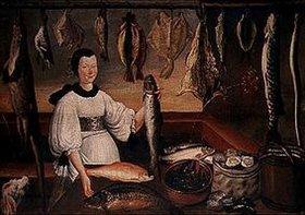 Deutsch: Die Fischhändlerin