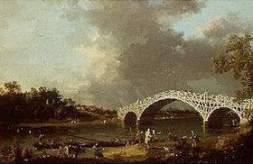 Canaletto (Giovanni Antonio Canal): The Old Walton Bridge