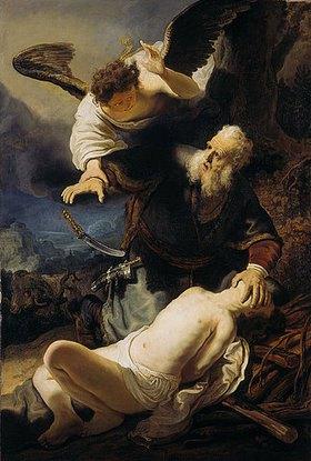 Rembrandt van Rijn: Die Opferung Isaaks