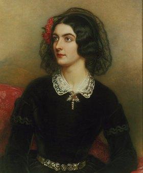 Joseph Karl Stieler: Bildnis der Lola Montez (1820-1861). Gemalt