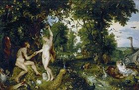 Peter Paul Rubens: Das Paradies (Adam und Eva / Der Sündenfall)