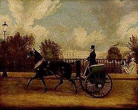 James Pollard: Captain Copland bei der Ausfahrt mit Tam-O-Shanter im Regentspark London