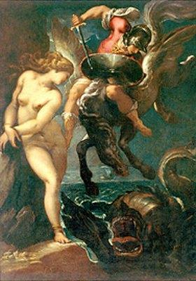 Pier Francesco Morazzone: Perseus und Andromeda