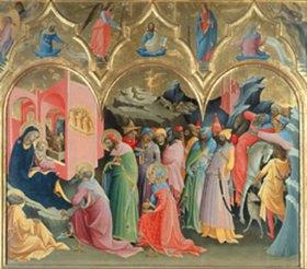 Lorenzo di Monaco: Die Anbetung der Könige
