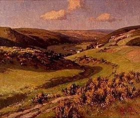 Fritz von Wille: Im Tal von Schleiden, Eifel