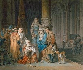 Marquard Wocher: Simeon im Tempel
