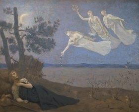 Pierre Puvis de Chavannes: Der Tra