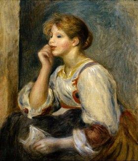 Auguste Renoir: Junges Mädchen mit Brief