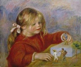 Auguste Renoir: Die spielende Claude Renoir
