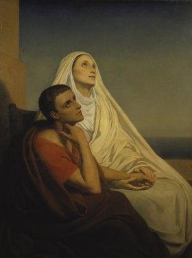 Ary Scheffer: Der hl.Augustin mit seiner Mutter, der hl.Monika