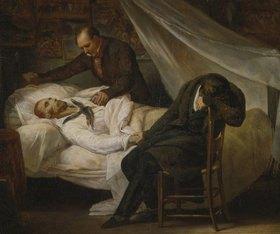 Ary Scheffer: Der Tod Géricaults am 26.Januar