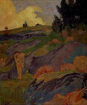 Paul Serusier: Die bretonische Eva (oder: Melancholie)