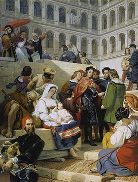 Emile Jean Horace Vernet: Der Maler Raffael im Vatikan