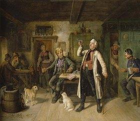 Hermann Volz: Bierprobe im Dorfgasthaus