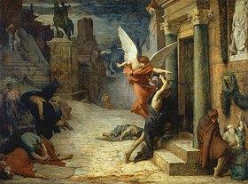 Jules Elie Delaunay: Die Pest in Rom (La Légende dorée, oder Légende de Saint Sébastien)