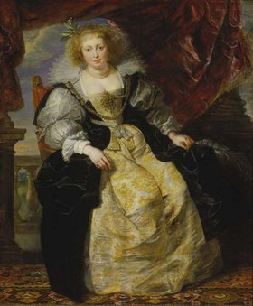 Peter Paul Rubens: Helene Fourment im Hochzeitskleid