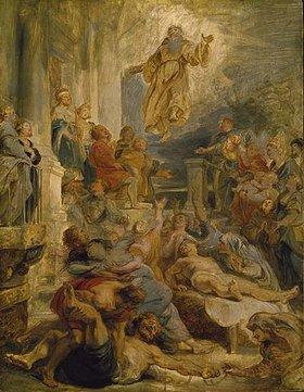Peter Paul Rubens: Die Wunder des heiligen Franz von Paula. Skizze, um 1626/28