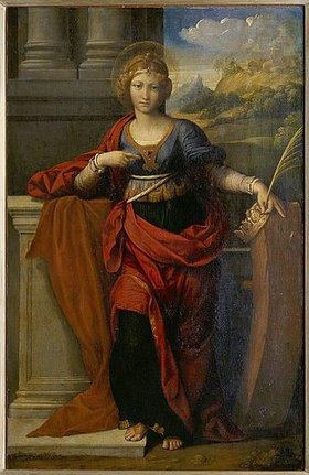 Garofalo (eigtlich Benvenuto Tisi): Die heilige  Katharina von Alexandria