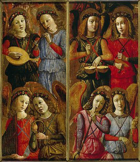 Florentinisch: Musizierende Engel