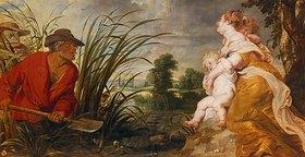 Peter Paul Rubens: Latona verwandelt die lykischen Bauern