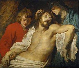 Peter Paul Rubens: Die Beweinung Christi durch Maria und Johannes