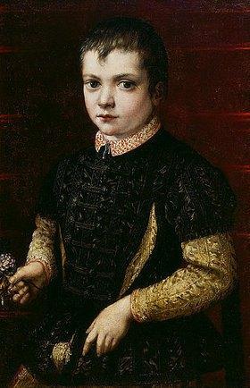 Francesco Salviati: Bildnis eines Knaben. Nach